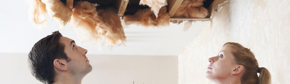 lekkage plafond